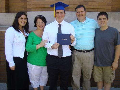 Riley family grad pic