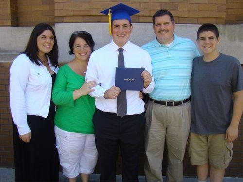 Riley family grad pic
