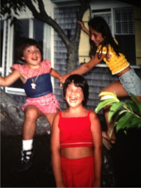 Cape cod flashback sisters