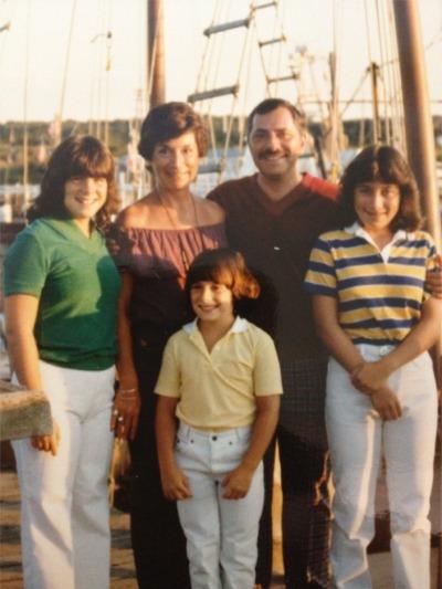 Cape cod flashback family