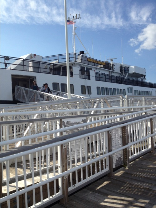 Cape cod ferry to mv