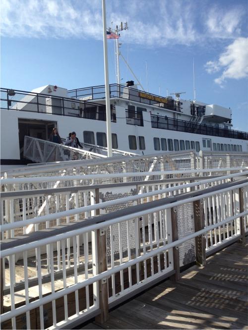 Cape cod ferry to mv