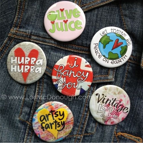 Ws pinback buttons