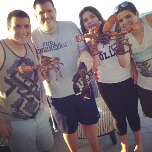 Cape cod lobster party