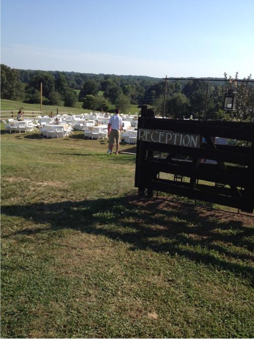 Farm reception
