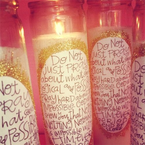 Ws prayer candles