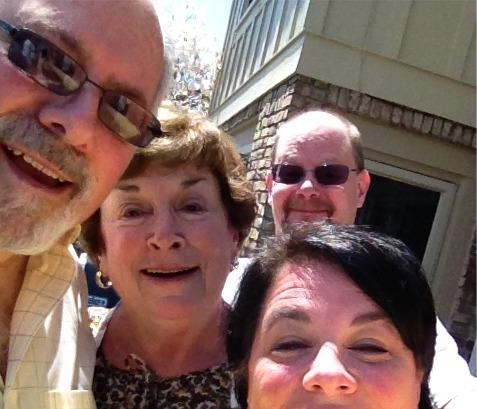 Parents selfies