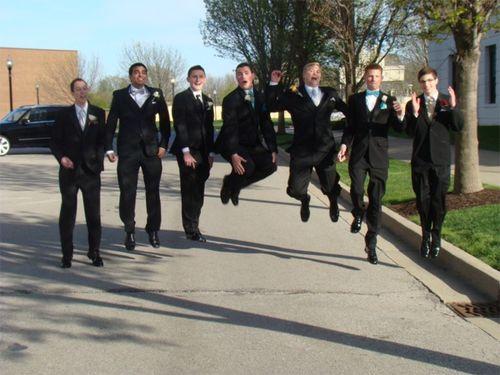 Prom jump