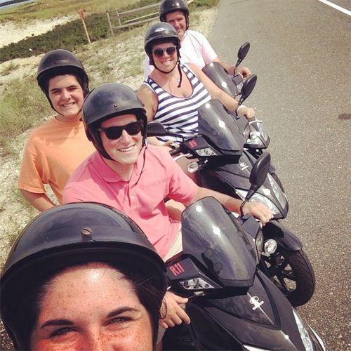 Cape cod bikers
