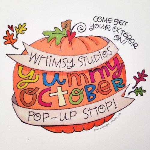 Yummy october pop up shop