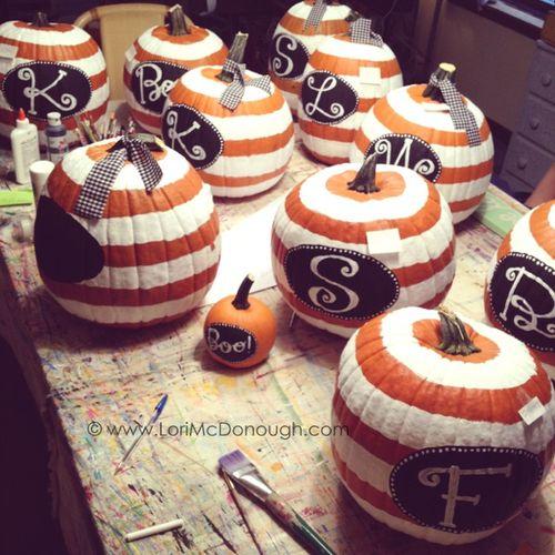 Whimsy studios pumpkins
