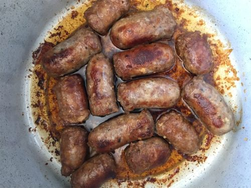 Moms sausages