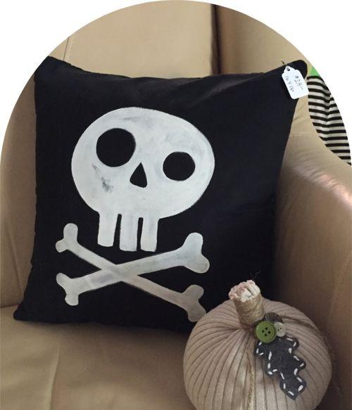 Jennys halloween pillow