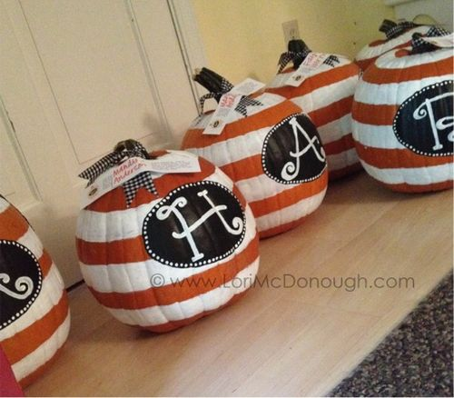 Whimsy studios pumpkins ready for pick up