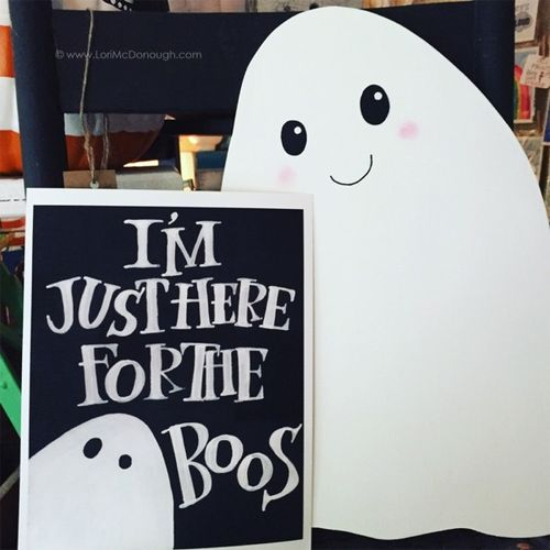Ghosts and boos