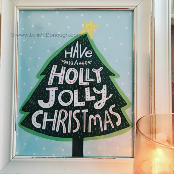 Katie holly jolly print