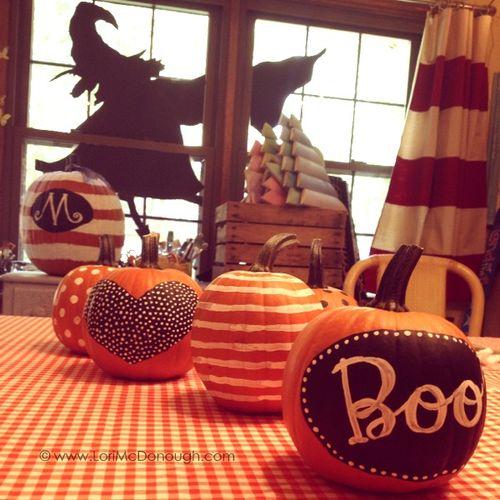 Yummy october pop up shop mini pumpkins