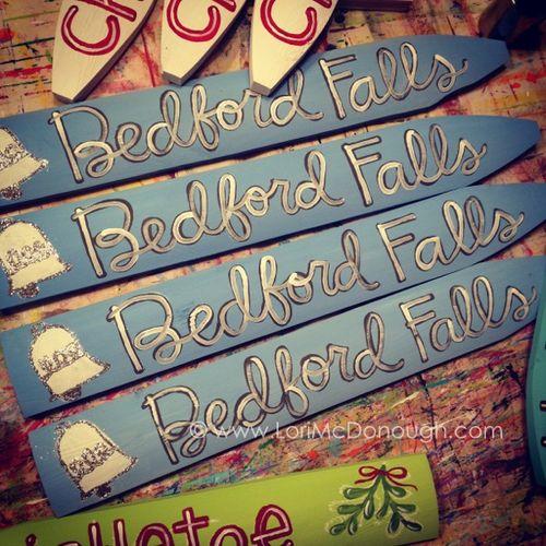 Bedford falls pickets